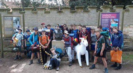 Scouts & Explorers Brownsea Island Expedition 2019